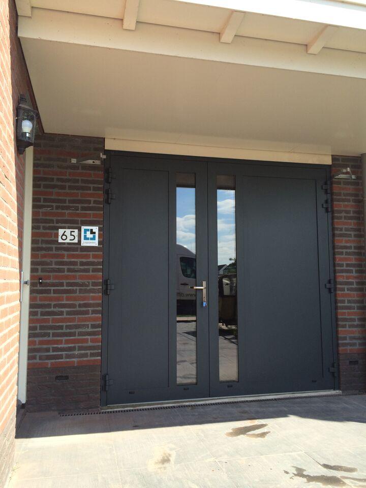 openslaande deuren ral 7016 in amersfoort different doors. Black Bedroom Furniture Sets. Home Design Ideas