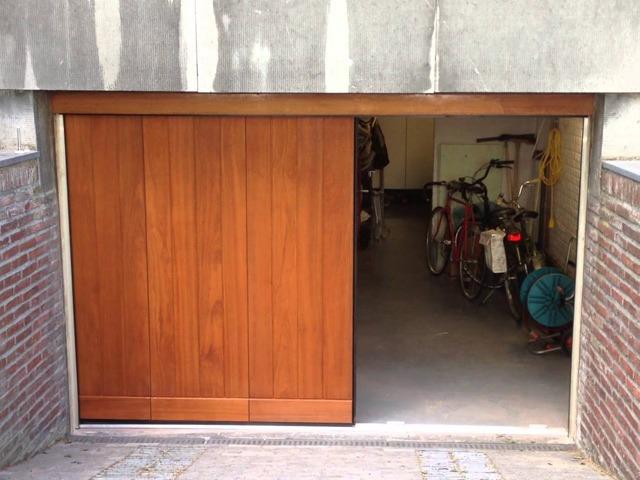 zijwaartse garagedeur